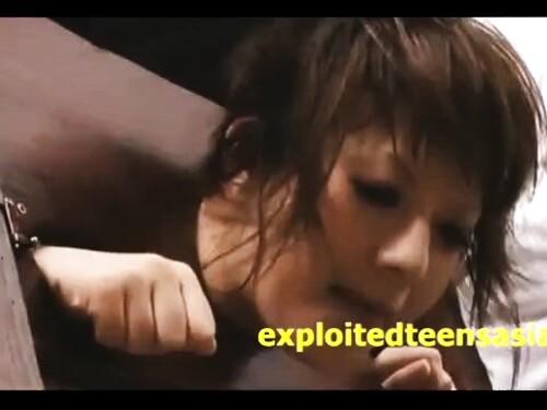 美尻お姉さんの調教拘束イラマチオイラマ輪姦レイプ