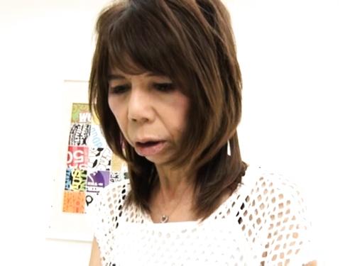 【NTR】貧乳高齢熟女のエロ動画