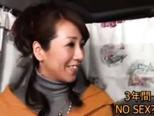【熟女ナンパ】巨乳素人人妻のエロ動画
