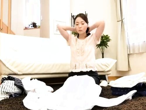 【NTR】五十路おばさんの近親相姦エロ動画