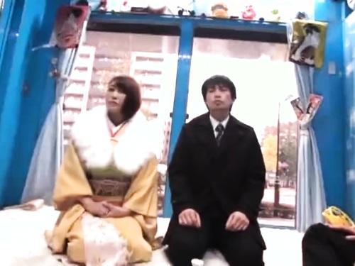 【ナンパ】美巨乳浴衣のエロ動画