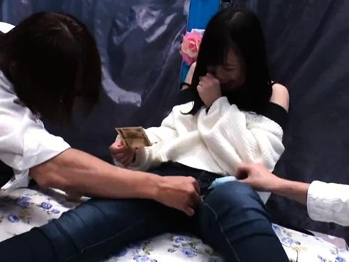【寝取られ】素人女子大生の失禁フェラお漏らし潮吹き