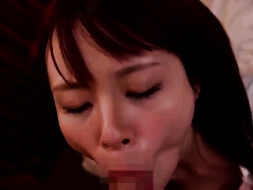 【寝取られ】神乳美尻美乳お姉さんのフェラ抜きお掃除フェラ顔射