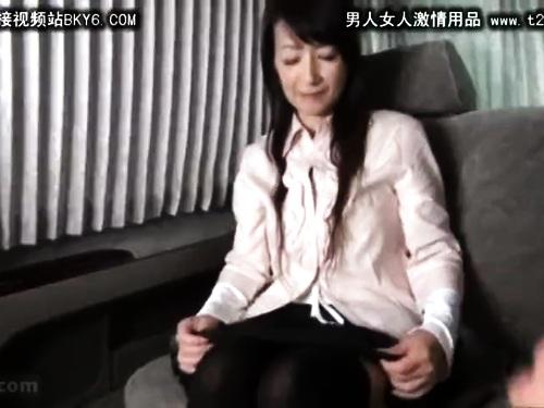 【人妻ナンパ】巨乳パンスト熟女のエロ動画