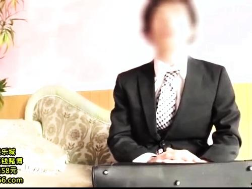 【素人ナンパ】スーツOLのオナニー