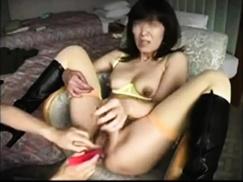 【寝取られ】変態素人おばさんのエロ動画