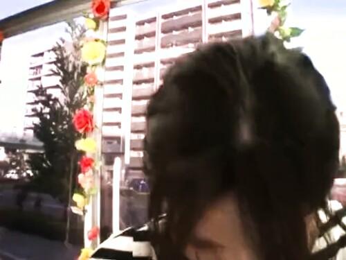 【素人ナンパ】パンチラ女子大生の拘束イラマチオ
