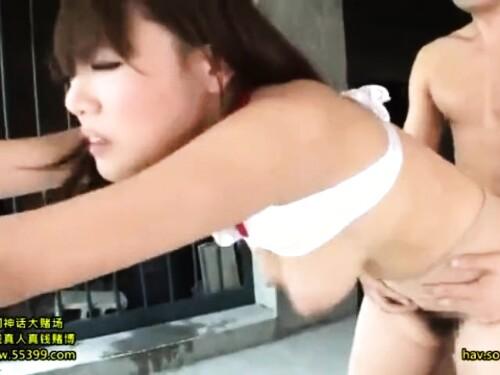 【枕営業】爆乳美乳ムチムチ姉の失神立ちバック激ピストン