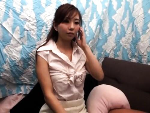【素人ナンパ】美女の口内射精