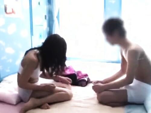 【マジックミラー】素人女子大生のエロ動画