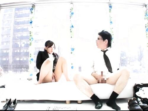 【素人ナンパ】淫乱OLのオナニー相互オナニー