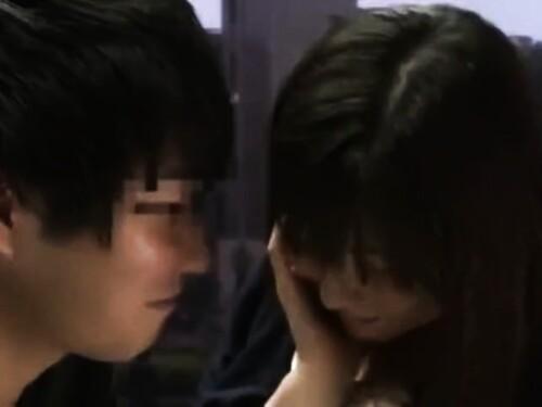 【マジックミラー】素人美少女のフェラ