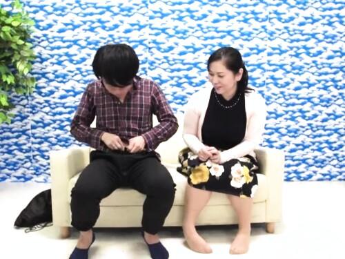 【熟女ナンパ】巨乳ぽっちゃり凄テク美熟女の近親相姦気持ちいいフェラ顔射