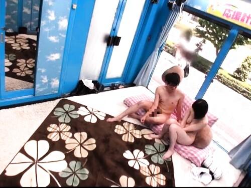【素人ナンパ】神乳人妻のパイズリ