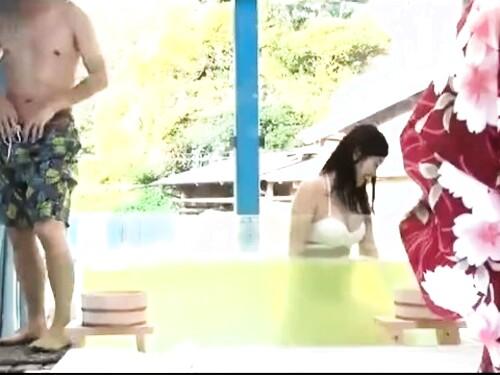 【マジックミラー号】盗撮フェラ騎乗位強制中出しされちゃう神乳女子大生